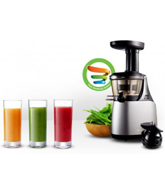 Hurom Slow Juicer First Generation : Hurom juice extractor Series HU-500DG First Generation Dark grey - Mancini & Mancini Shop