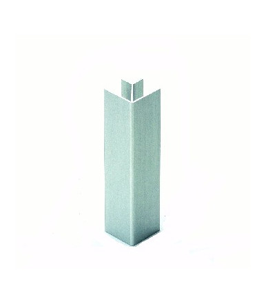 Angolo 90° alluminio per zoccolo Volpato 20/10.400AL