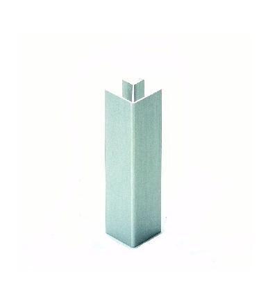 Multiangolo in plastica rivestito alluminio per zoccolo Volpato 20/20.400