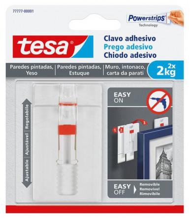 Chiodi adesivi regolabili per carta da parati ed intonaco 2 kg Tesa