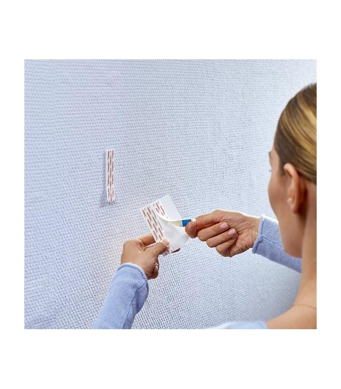 Chiodi adesivi bianchi per carta da parati ed intonaco 2 for Chiodi adesivi