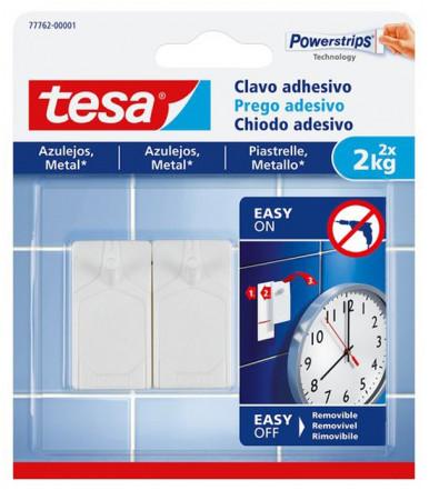 Chiodi adesivi bianchi per piastrelle e metallo 2 kg Tesa