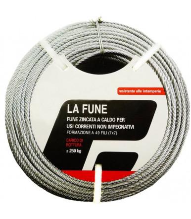 Facoplast 6 mt Verzinkte Seile für Seilwinde