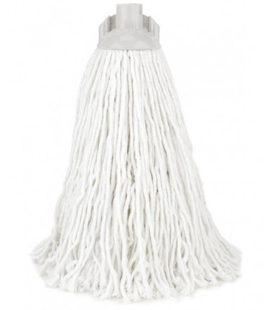 Floor mop with cotton fibers head - Girello