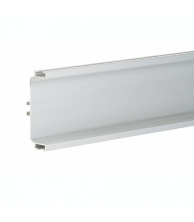 Volpato 80/G1.3AL aluminium horizontal throat profile for drawers
