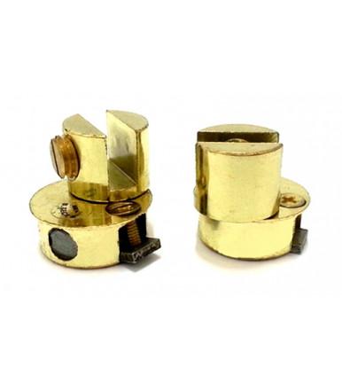 Paar frei scharniere Ø 28 mm für glastüren MONO GR 28