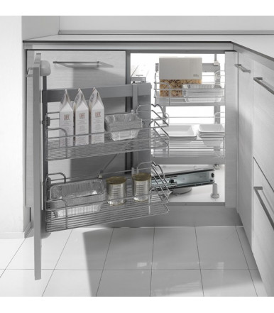 Kesseb 246 Hmer Set 2 Trays Swing For Corner Cabinets Unit