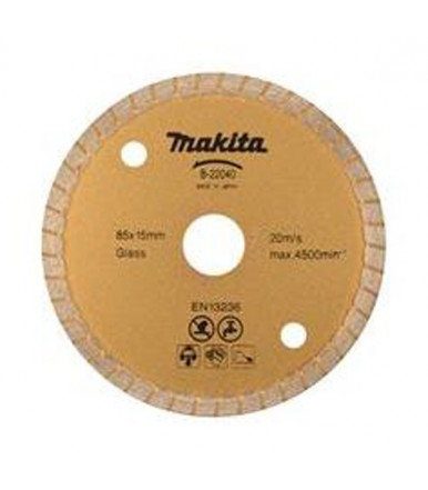 Disco de diamante 85x15 mm B-22040 Makita