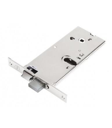 Assa Abloy Cerradura alto Silver Basic para puerta de aluminio