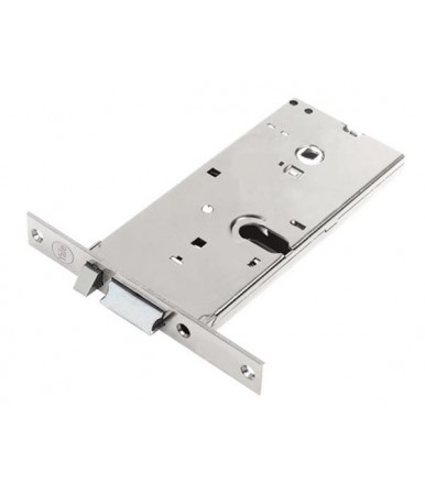 Assa Abloy Cerradura alto Silver Basic eléctrica para puerta de aluminio