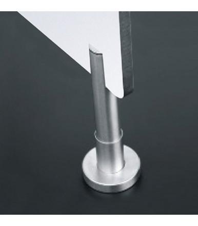 Adjustable foot inox for panel SM.017 JNF