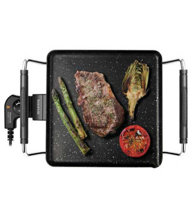 "TAURUS - GALEXIA STONE smooth griddle/electric barbecue with soapstone ""STONE"" 1800W"