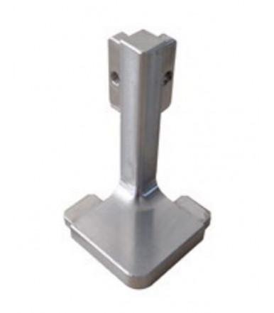 Angolo esterno in alluminio 90° Volpato 80/G11.A90A per profilo gola orizzontale classico 80/G12.AL