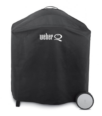 Weber Premium Grill Cover for Weber Q Series 300 and 3000