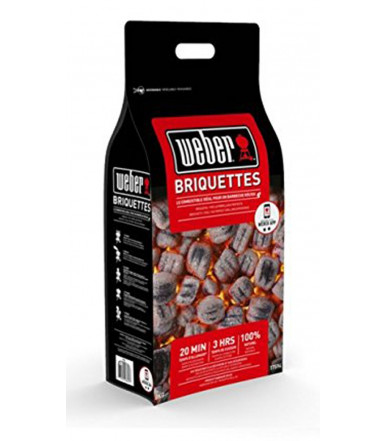Weber 4 Kg coal briquettes cod.17590