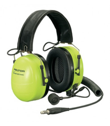 Ground Mechanic Communications cuffie protettive, 33 dB, Hi-Viz 3M PELTOR