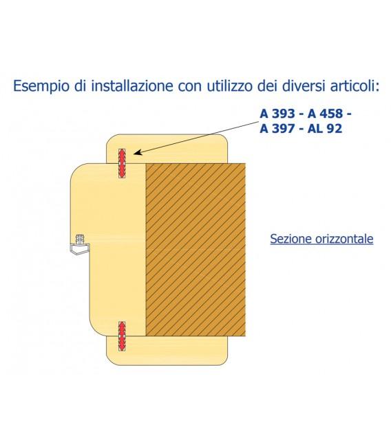 Giunzione per stipiti porte interne roverplastik asta 2 20 mt mancini mancini shop - Stipiti porte interne ...