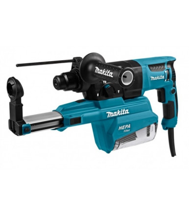 Makita HR2651TJ rotary hammer SDS-PLUS with integrated suction