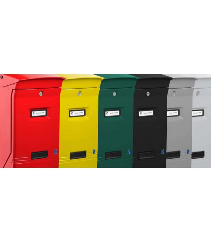 Cassetta postale formato rivista per esterno singola for Articoli per esterno