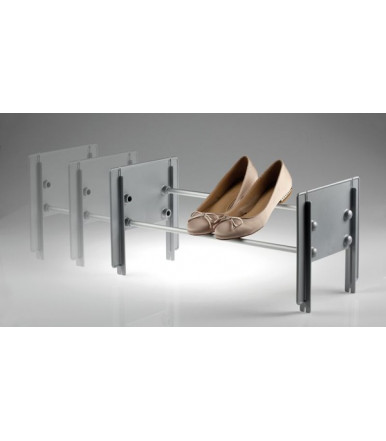 Servetto CIP adjustable and stackable shoe rack