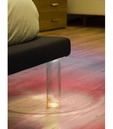 Stützfüsse Füße mit LED für Möbel und Sofa Poliplast 720 LED
