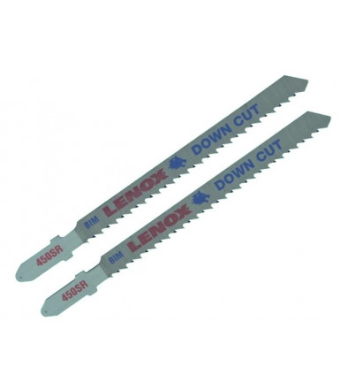 LENOX Set 2 bi-metal jig saw blades DOWN CUT