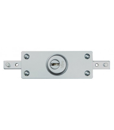 Viro central armoured lock for roller shutter