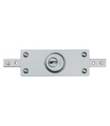 Viro central armoured lock for roller shutter