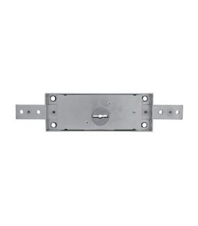 Viro central lock for roller shutter with double bit keys