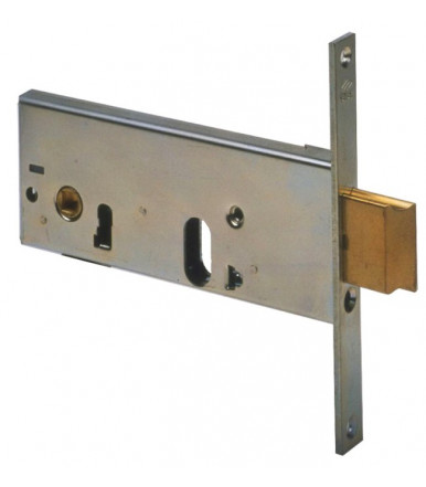 Cisa 44155 Cerradura horizontal de embutir de cilindro ancho 44 mm