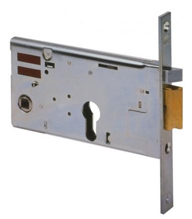 Cisa 14350 Cerradura eléctrica horizontal de embutir de cilindro ancho 77 mm