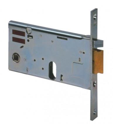 Cisa 14450 Cerradura eléctrica horizontal de embutir de cilindro ancho 77 mm