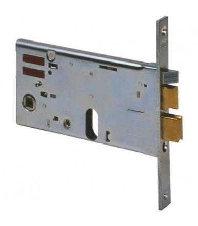 Cisa 14460 Cerradura eléctrica horizontal de embutir de cilindro ancho 77 mm