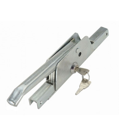 391 Combi closing lever bolt system 14x14 with cylinder