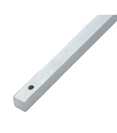 394 Combi square lever bolt rod 14x14 for windows