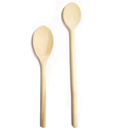 Round spoon kitchen beechwood Abruzzo handicraft