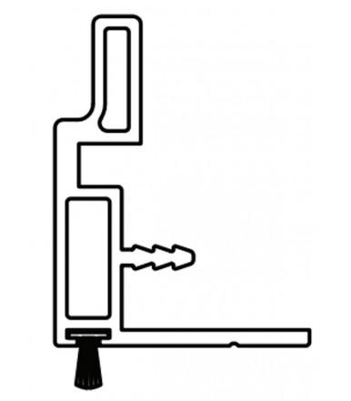 Griff für Panel max. 22-23 mm Art. 2212