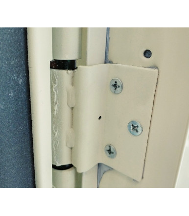 Dierre 32 01.03.18 hinge with spring for fire doors Split and Twin