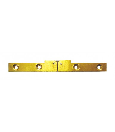 Hinge in brass for gaming table 11mm x 127mm