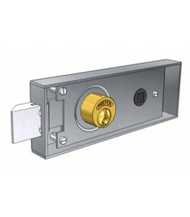 Prefer 6751.0802 mortise lock for metal door