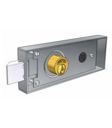 Serratura da infilare per porta in ferro 6751.0802 Prefer