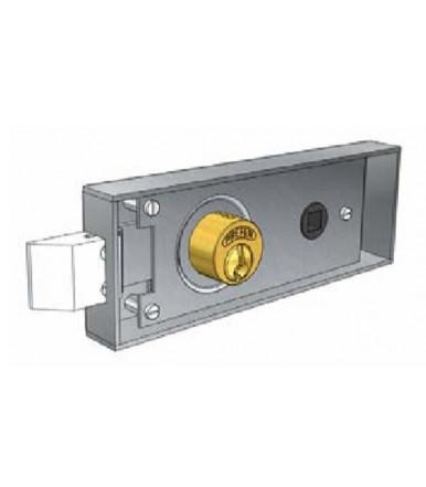 Prefer 6752.0802 mortise lock for metal door