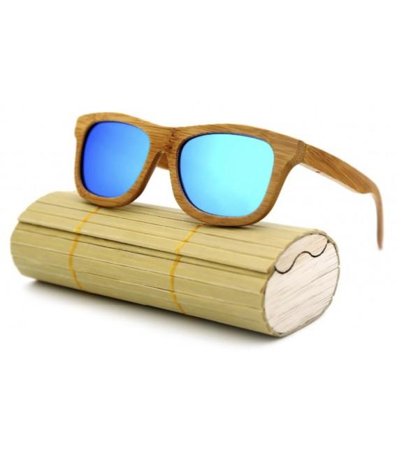 Occhiali da sole unisex in Bambù