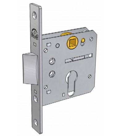 Serratura da infilare per profili metallici e porte in legno 5510 Prefer