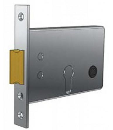 Prefer 5525.080Z mortise lock without cylinder for metal doors