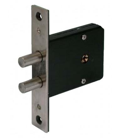 Cerradura de embutir cilindro 1 vuelta por puerta 1400 K