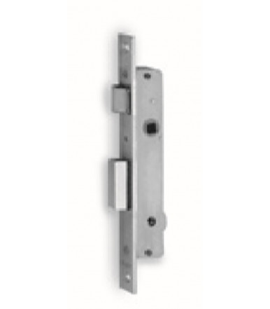 Mortice lock 1 throw and reversable latch for aluminum doors and windows 901 K