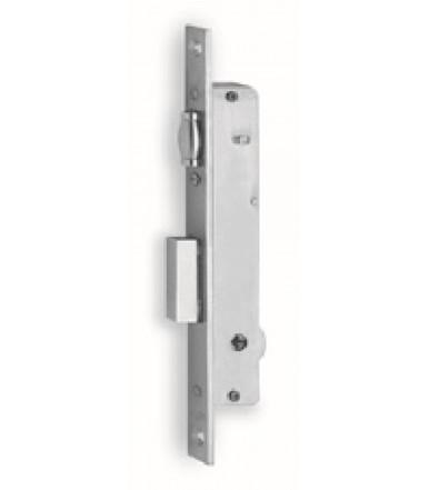 Cerradura de embutir 1 vuelta y rodillo regulable para ventanas de aluminio 902 K