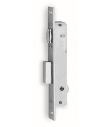 Mortice lock 1 throw and adjustable roller for aluminum doors and windows 902 K