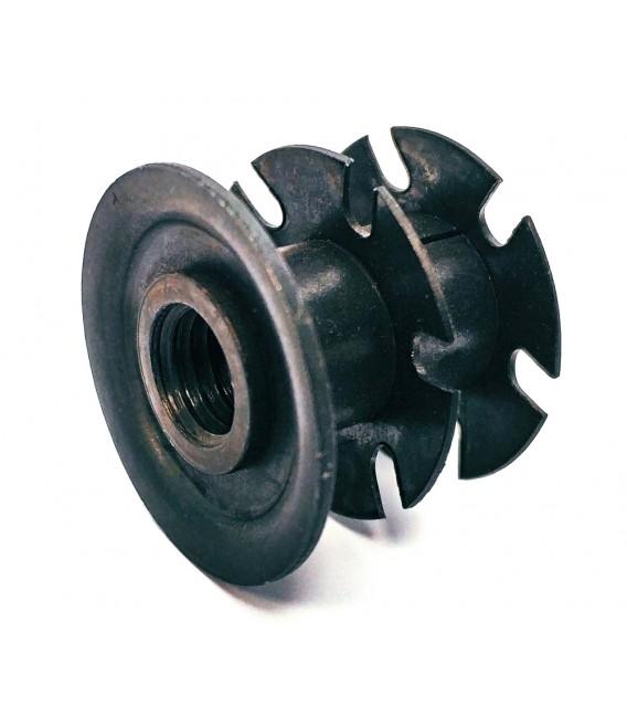 Specialinsert Crown-Nut ITT2T/M10 Insert for round Tube